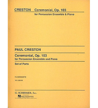 Ceremonial, Op. 103