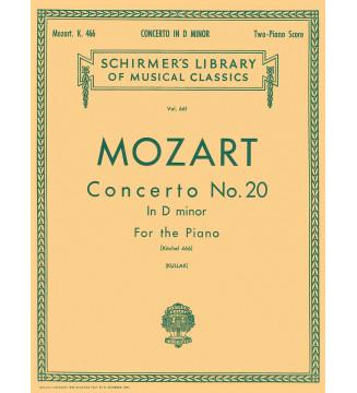 Concerto No. 20 in D Minor,...