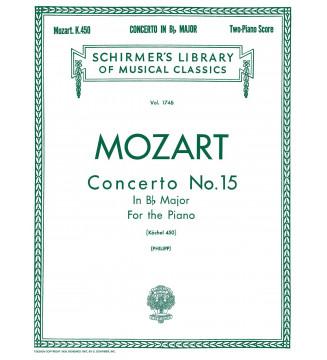 Concerto No. 15 in Bb, K. 450