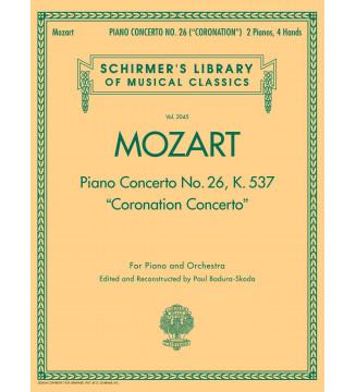 Piano Concerto No. 26, K. 537