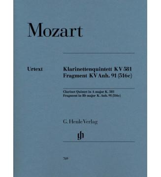 Clarinet Quintet in A major...