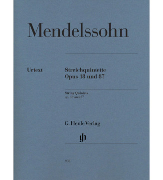 String Quintets op. 18 and 87