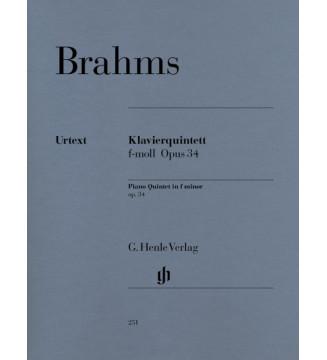 Piano Quintet f minor op. 34