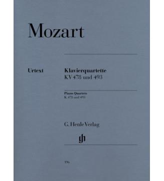 Piano Quartets K. 478 and 493