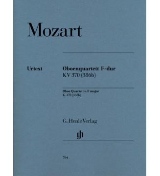 Oboe Quartet in F major K....