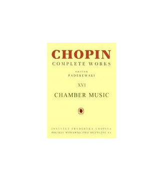 Complete Works XVI: Chamber...