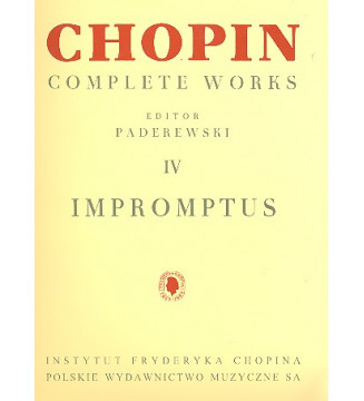 Complete Works IV: Impromptus