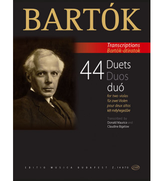 44 Duets for two violas