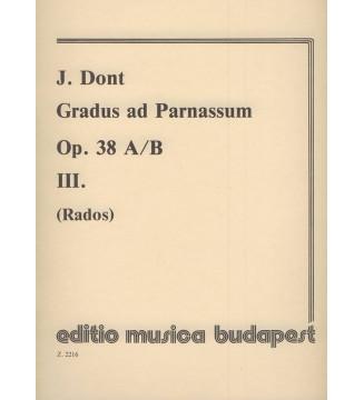 Gradus ad Parnassum III op....