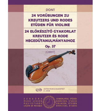 24 Vorübungen op. 37