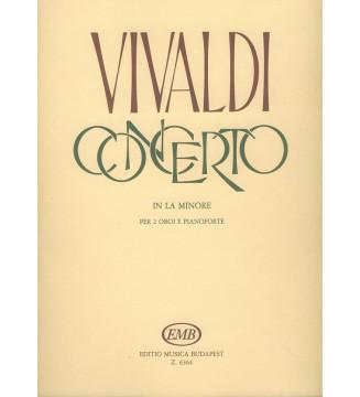 Concerto in la minore per 2...