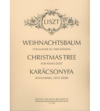 Weihnachtsbaum für Klavier...