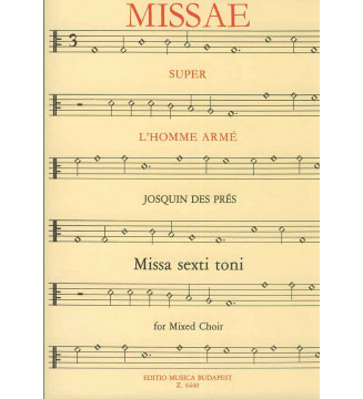 Missa L'homme arme Missa...