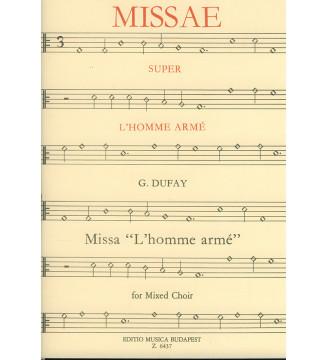 Missa L'homme arme für gem....