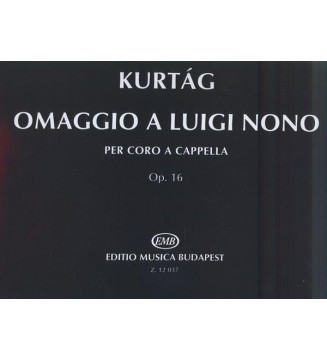 Omaggio a Luigi Nono op. 16